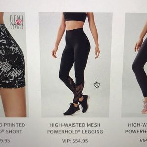 LIMITED EDITION FABLETICS LEGGINGS